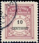 Mozambique Company 1916 Postage Due Stamps g