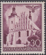 Poland-General Government 1940 Buildings (1st Group) g