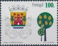 Portugal 1997 Arms of the Districts of Portugal d