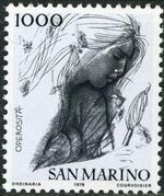 "San Marino 1976 ""Civic Virtues"" j"