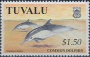 Tuvalu 1998 Dolphins and Porpoises d