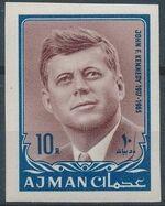 Ajman 1964 President Kennedy p