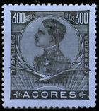 Azores 1910 D. Manuel II l