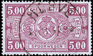 Belgium 1941 Railway Stamps (Numeral in Rectangle IV) n