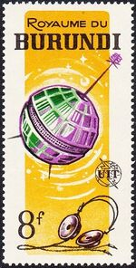 Burundi 1965 Centenary of the ITU e