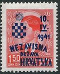 Croatia 1941 Anniversary of Independence d