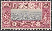French Somali Coast 1938 Definitives v