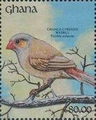 Ghana 1991 The Birds of Ghana b