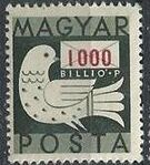 Hungary 1946 Dove and Letter j