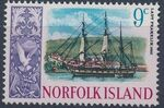 Norfolk Island 1967 Ships - Definitives (2nd Issue) g