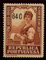 Portugal 1925 Birth Centenary of Camilo Castelo Branco q