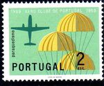 Portugal 1960 The 50th Anniversary of the Aero Club of Portugal c