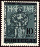 Portugal 1965 500 Years of Bragança City b