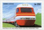 Sierra Leone 1995 Railways of the World 3k
