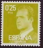 Spain 1977 King Juan Carlos I - 3rd Group a