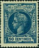 Spanish Guinea 1905 Alfonso XIII i