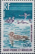 St Pierre et Miquelon 1973 Birds a