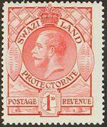 Swaziland 1933 George V b