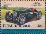 Tuvalu-Funafuti 1985 Leaders of the World - Auto 100 (2nd Group) h