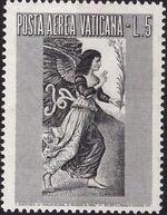 Vatican City 1956 Archangel Gabriel a