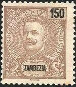 Zambezia 1898 D. Carlos I k