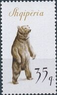 Albania 1965 Brown Bear d