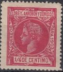 Elobey, Annobon and Corisco 1903 King Alfonso XIII a