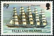 Falkland Islands 1989 Ships of Cape Horn h