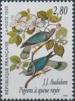 France 1995 Birds by J.J. Audubon b