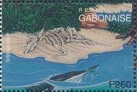 Gabon 1995 Prehistoric Wildlife ze