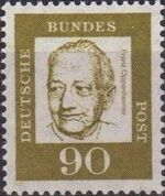 Germany, Federal Republic 1961 Famous Germans n