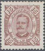Macao 1894 Carlos I of Portugal c