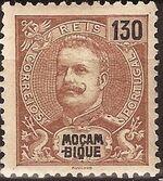 Mozambique 1903 D. Carlos I - New Values and Colors g