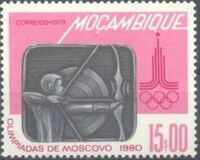 Mozambique 1979 Olympic Games - Moscow 1980 f