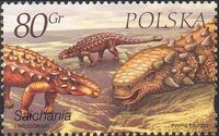 Poland 2000 Dinosaurs c