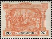 Portugal 1898 400th Anniversary of Discovering the Seaway to India (Postage Due Stamps) c