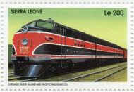 Sierra Leone 1995 Railways of the World l