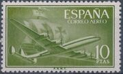 Spain 1956 Plane and Caravel (2nd Group) f