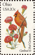 United States of America 1982 State birds and flowers zg