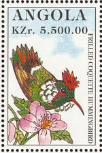 Angola 1996 Hummingbirds k