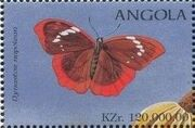 Angola 1998 Butterflies (3rd Group) a