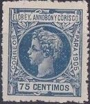Elobey, Annobon and Corisco 1905 King Alfonso XIII j