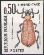 France 1982 Insects - Postage Due Stamps (1st Issue) i