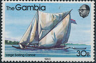 Gambia 1983 River Boats h