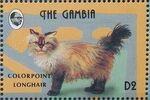 Gambia 1993 Oriental Cats l