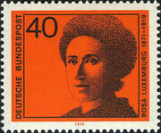 Germany, Federal Republic 1974 Famous Woman d