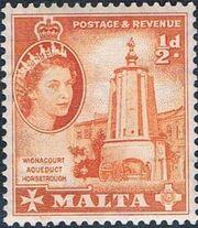 Malta 1956 Elizabeth II b