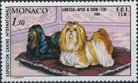 Monaco 1980 International Dog Show, Monte Carlo a