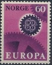 Norway 1967 EUROPA - CEPT a