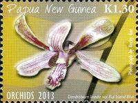 Papua New Guinea 2013 Orchids a